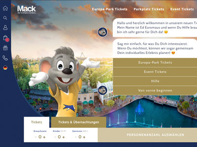 Europa-Park Ticketing (2019)